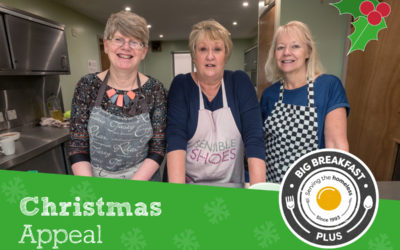 Festive Fundraising: How you can support our work with homeless people this Christmas